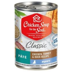 chicken-soup-for-the-soul-puppy-pate-chicken-turkey-duck-recipe-canned-dog-food