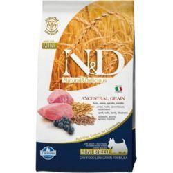 farmina-ND-ancestral-grain-lamb-blueberry-recipe-adult-mini-breed-dry-dog-food