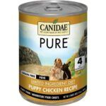 CANIDAE-grain-free-PURE-foundations-puppy-formula-with-chicken-canned-dog-food