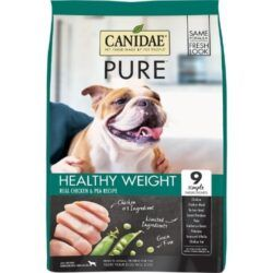 CANIDAE-grain-free-PURE-healthy-weight-real-chicken-pea-recipe-dry-dog-food