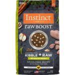 instinct-raw-boost-healthy-weight-grain-free-chicken-freeze-dried-raw-pieces-recipe-dry-dog-food
