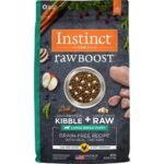 instinct-raw-boost-large-breed-puppy-grain-free-recipe-with-real-chicken-freeze-dried-raw-pieces-dry-dog-food