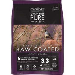 CANIDAE-grain-free-PURE-ancestral-avian-formula-freeze-dried-raw-coated-dry-dog-food
