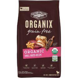 castor-pollux-ORGANIX-organic-small-breed-recipe-grain-free-dry-dog-food