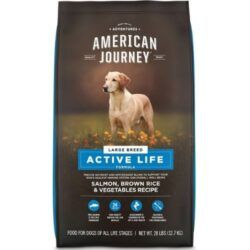 american-journey-active-life-formula-large-breed-salmon-brown-rice-vegetables-recipe-dry-dog-food