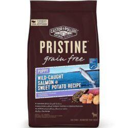 castor-pollux-pristine-wild-caught-salmon-sweet-potato-recipe-grain-free-puppy-dry-dog-food