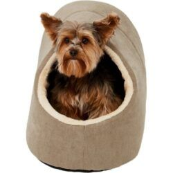frisco-cave-covered-dog-bed