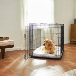 frisco-heavy-duty-all-in-1-multi-stage-3-door-collapsible-wire-dog-crate