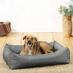 frisco-rectangular-bolster-dog-bed-with-removable-cover