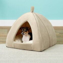 frisco-tent-covered-dog-bed