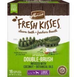 merrick-fresh-kisses-double-brush-coconut-plus-botanical-oils-infused-large-dental-dog-treats