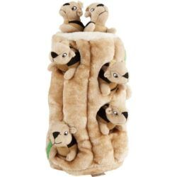 outward-hound-hide-a-squirrel-squeaky-puzzle-plush-dog-toy