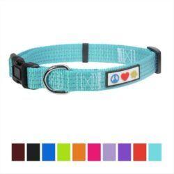 pawtitas-nylon-reflective-dog-collar