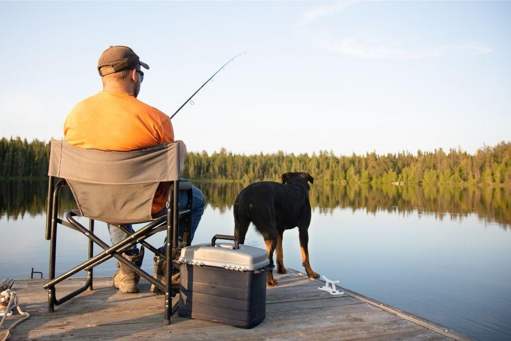 dog-outdoor-activity-fishing