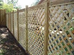 7. Lattice Fence