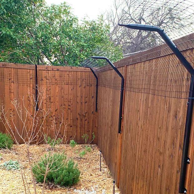 8. No Jump Dog Fence